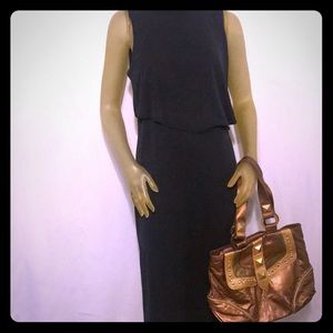 Handbags - Charm and Luck gold soft calf leather hobo
